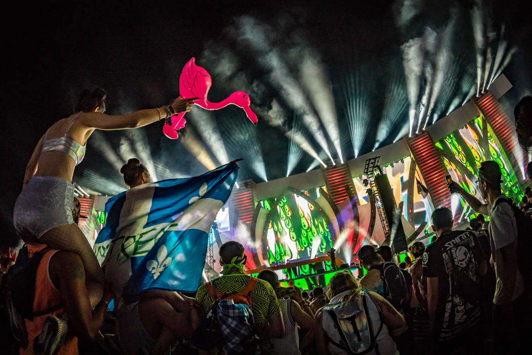 Electric Daisy Carnival Las Vegas is expected to draw 150,000 revelers to Las Vegas Motor Speed ...