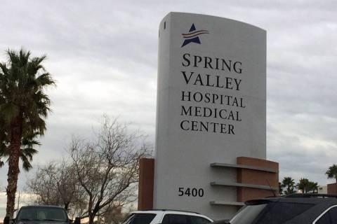 Spring Valley Hospital, 5400 S. Rainbow Blvd. (Las Vegas Review-Journal)