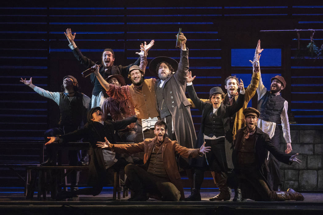 """The cast of """"Fiddler on the Roof."""" (Joan Marcus)"""