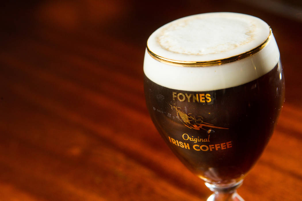 Ri Ra's Signature Foynes Irish Coffee. Ri Ra