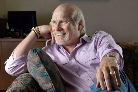 Terry Bradshaw, seen in Las Vegas in 2013. (Las Vegas Review-Journal)