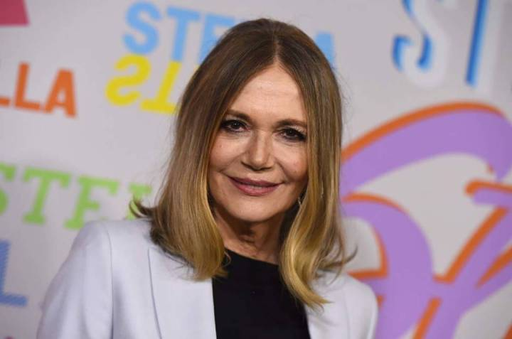Peggy Lipton arrives at the Stella McCartney Autumn 2018 Presentation in Los Angeles in January ...