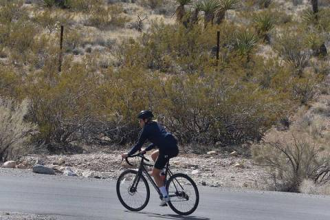 Las Vegas Valley will have highs in the 90s this week. (Bizuayehu Tesfaye/Las Vegas Review-Jour ...
