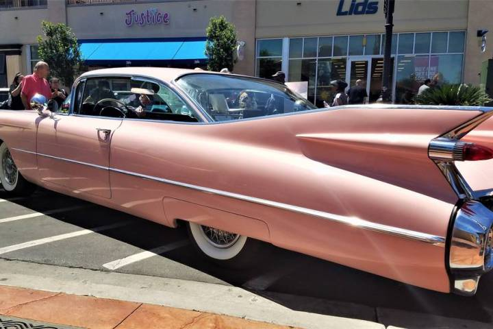 A classic 1959 Cadillac was among the 81 entries in the 14th annual Cadillac Through the Years ...