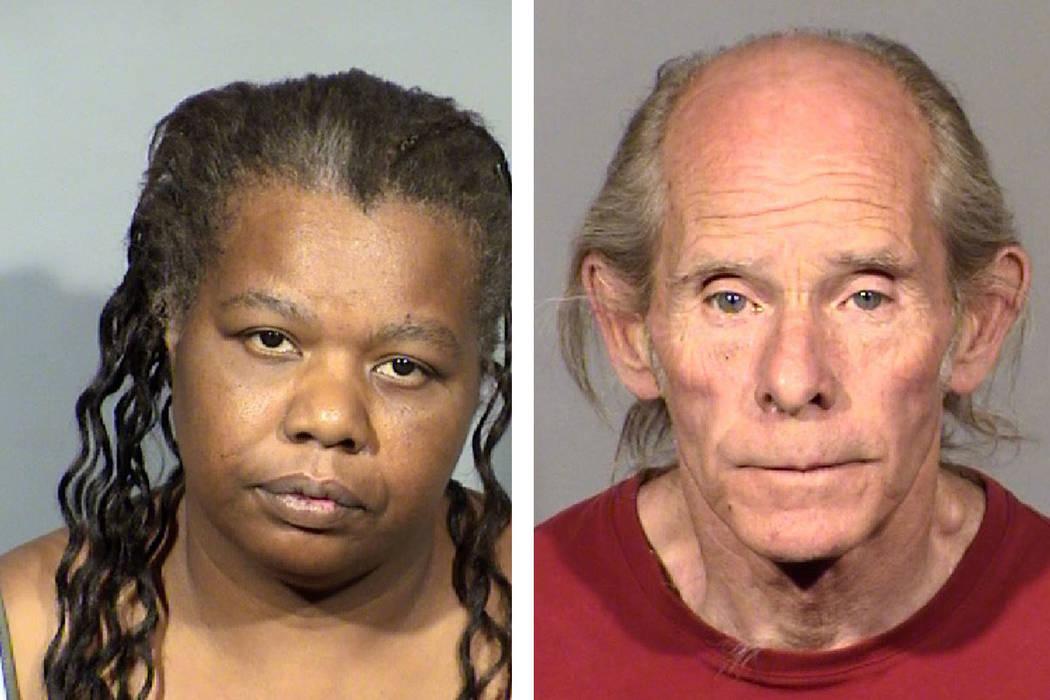 Camilla Kepler, 46, (left) and Brian Savage, 64 (Las Vegas Metropolitan Police Department