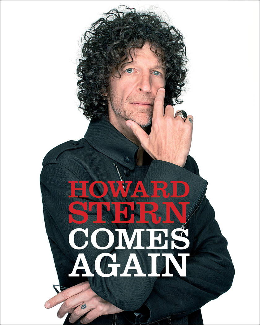 """""""Howard Stern Comes Again,"""" Stern's third book, is a revealing published account of his favorit ..."""