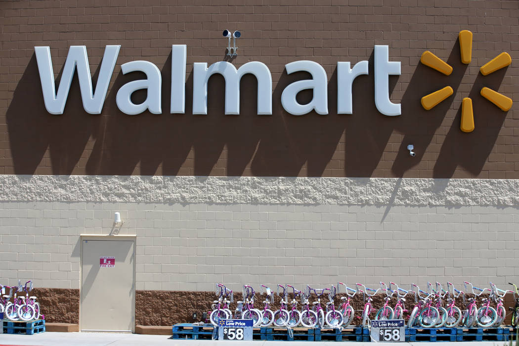 Walmart at 2310 E. Serene Ave. in Las Vegas Tuesday, March 14, 2019. K.M. Cannon Las Vegas Revi ...