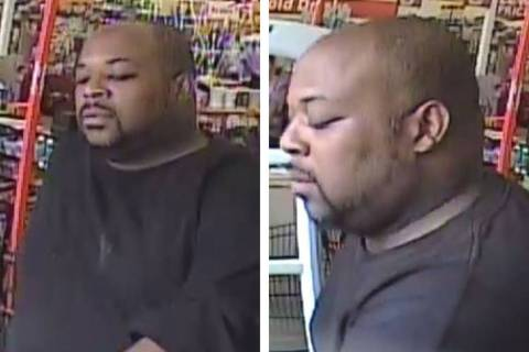 Police are searching for this man suspected in a robbery of an employee at a business Thursday, ...