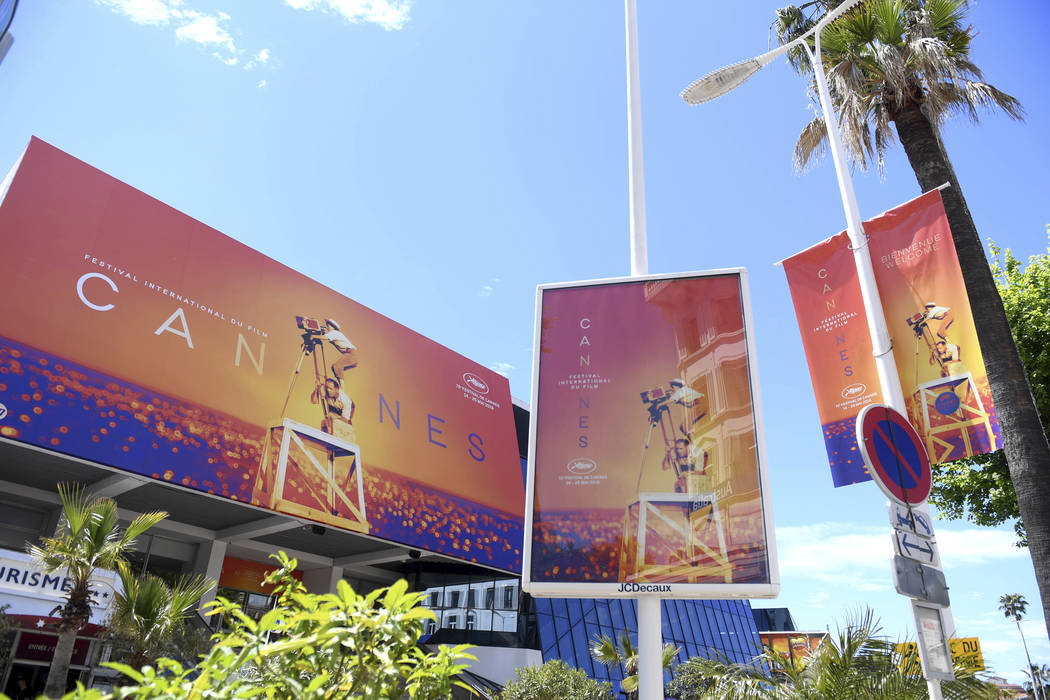 A view of the Palais des festivals during the 72nd international film festival, Cannes, souther ...