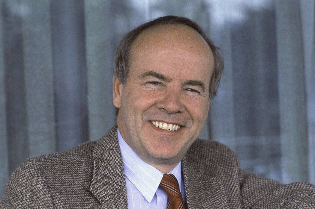 FILE - A Feb. 15, 1983 file photo shows comedian Tim Conway. Conway, the stellar second banana ...