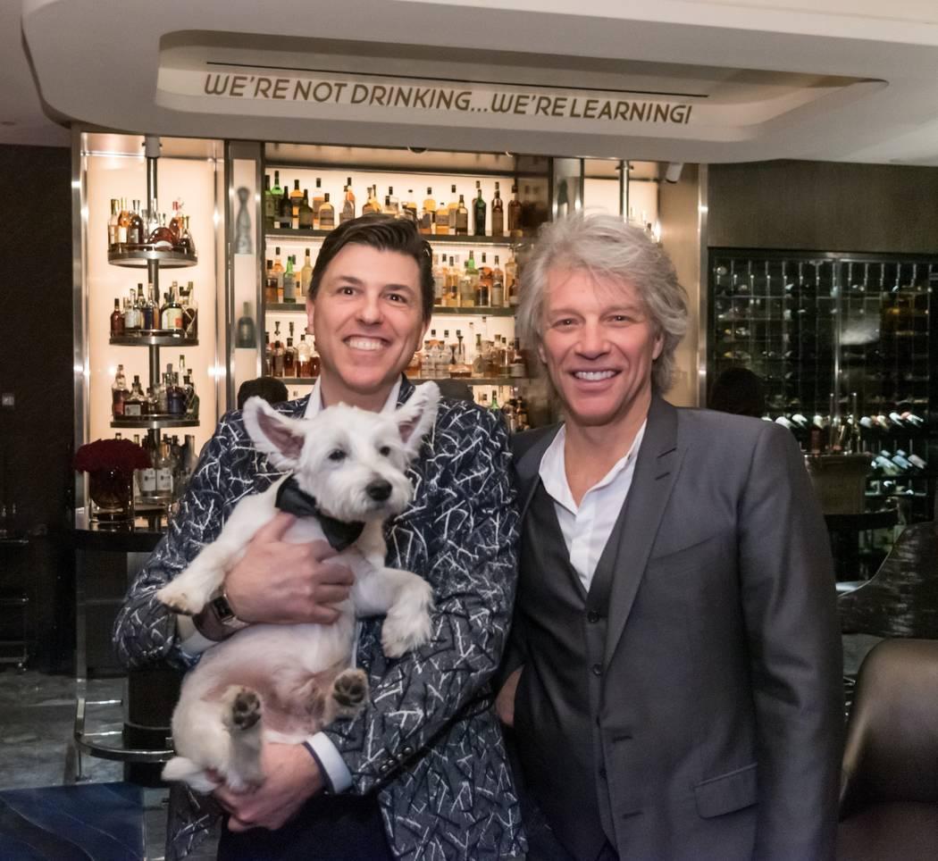 Art Greene for Cashman Photos Francesco Lafranconi and Jon Bon Jovi at Mr. Coco at the Palms