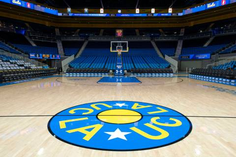 View of the Pauley Pavilion, home court of UCLA in Los Angeles, California. (Photo by Kyusung G ...