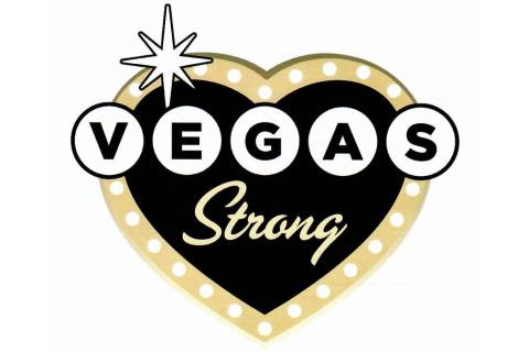"""The emblem for the 1 October """"Vegas Strong"""" license plate. The Senate unanimously approved crea ..."""