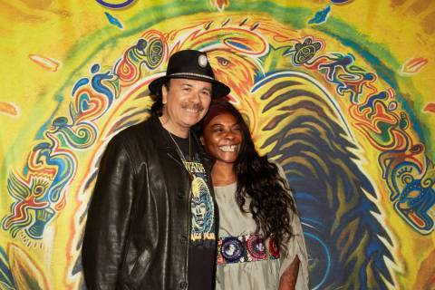 "Carlos Santana and Spanish singer Buika have collaborated on the new release, ""Africa Speaks."" ..."