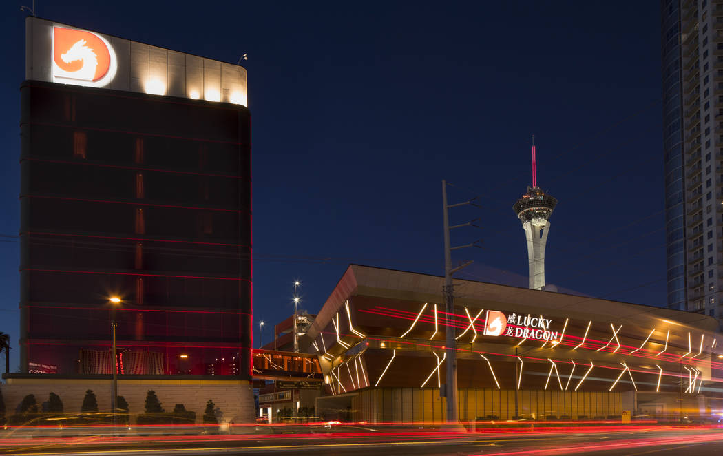 The Lucky Dragon located at 300 W. Sahara Avenue in Las Vegas on Tuesday, Sept. 18, 2018. Richa ...