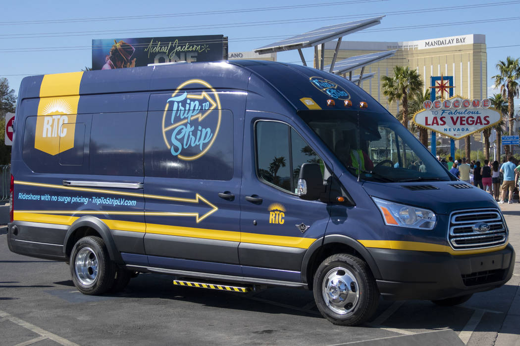 Trip to Strip, the Regional Transportation Commission of Southern Nevada's on demand transit ...