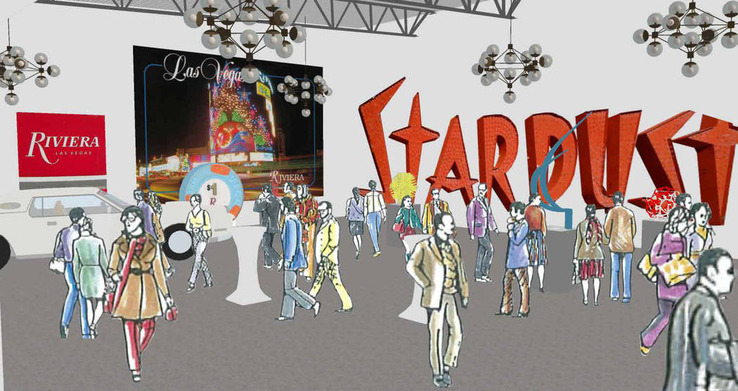 Rendering of the Neon Museum expansion. The museum acquired the Reed Whipple Cultural Center lo ...