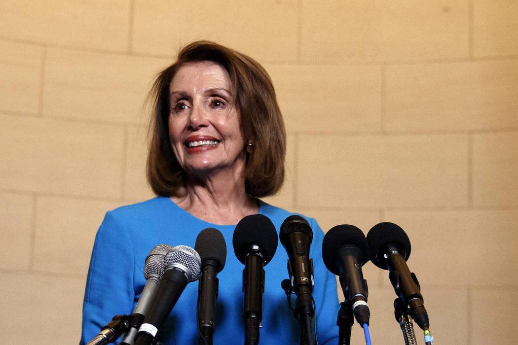 House Majority Leader Nancy Pelosi, D-Calif. (AP Photo/Carolyn Kaster)