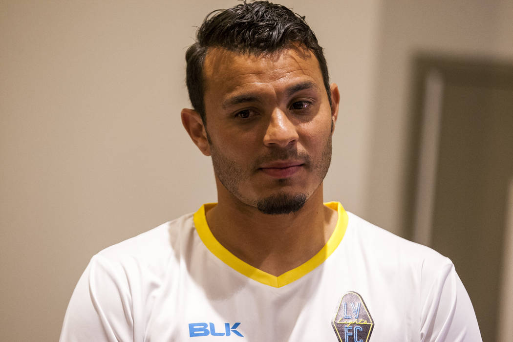Sammy Ochoa scored the Lights' first goal on a header in the 13th minute on Tuesday, may 14, 20 ...