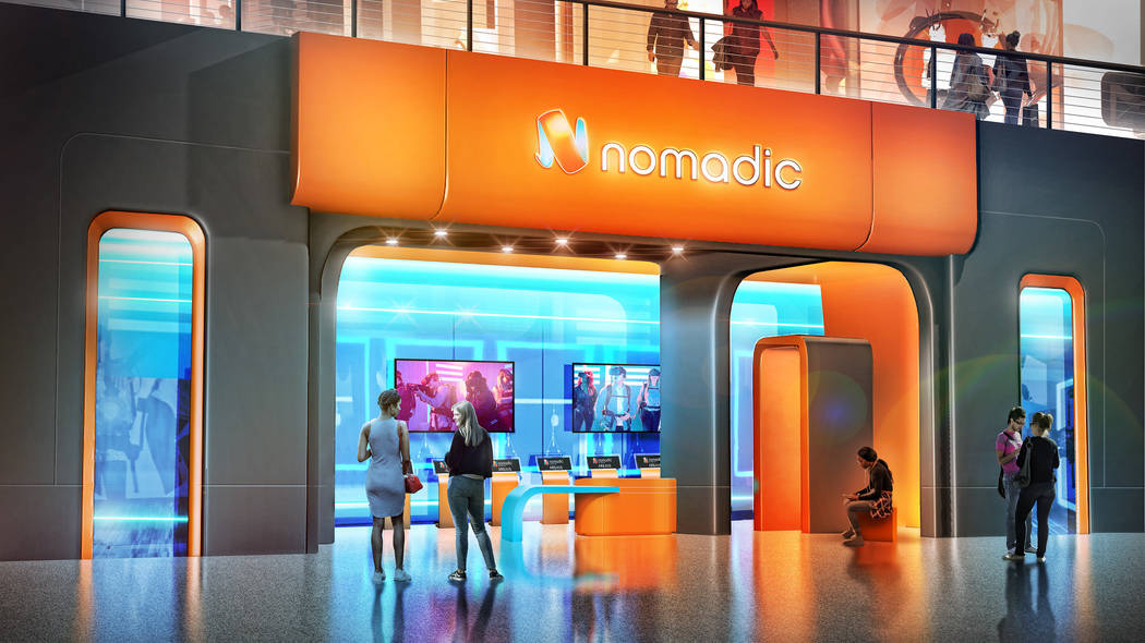 Nomadic is the second company to announce tenancy in Area15. Design + Distill