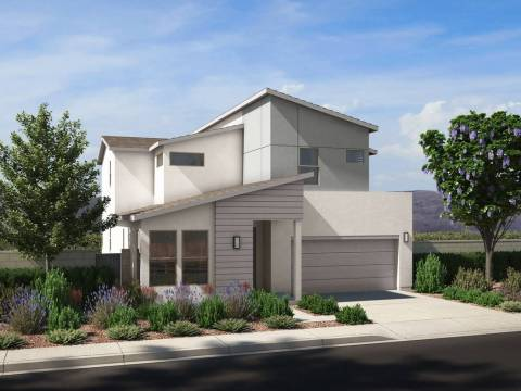 Sales are now underway at Cirrus by Pardee Homes in southwest Las Vegas off Cactus Avenue and J ...