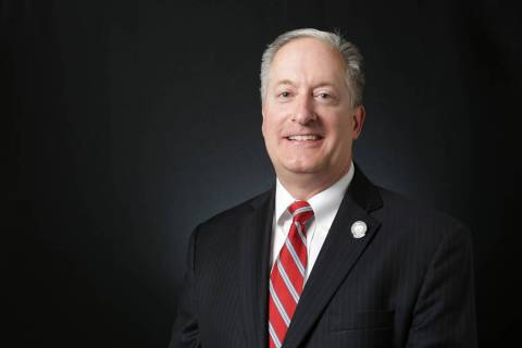 Sen. Keith Pickard, R-Henderson, shown April 18, 2018, criticized cuts to the proposed budget t ...