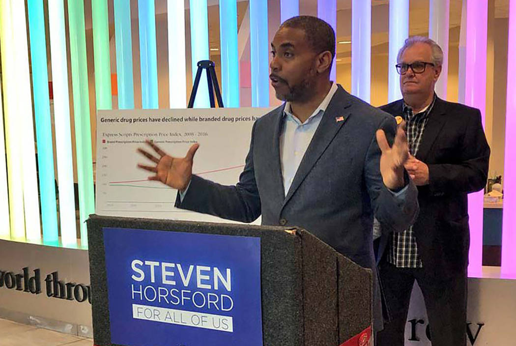 Steven Horsford, seen in 2018, also voiced opposition to the administration's proposal. (Las ...