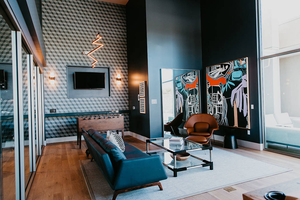 Tanager, Downtown Summerlin's newest luxury apartment community, is leasing 267 luxury reside ...