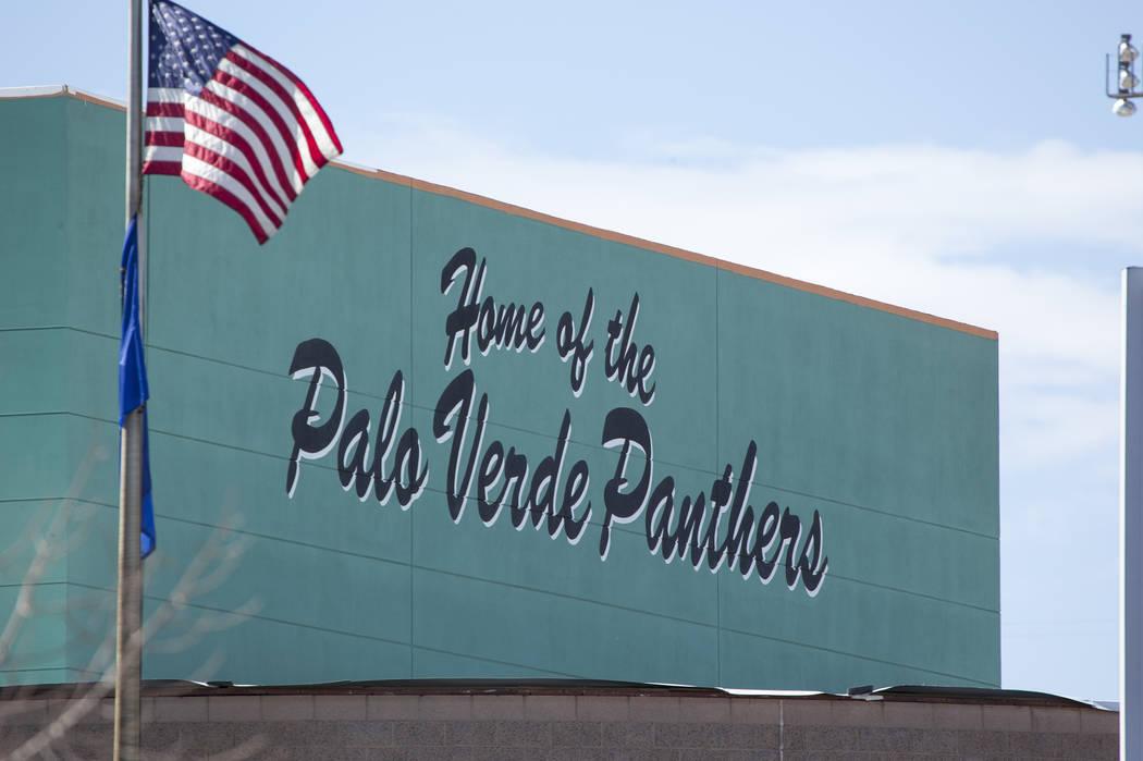 Palo Verde High School in Las Vegas. (Las Vegas Review-Journal)