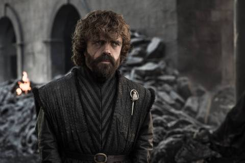 "Peter Dinklage in ""Game of Thrones"" photo: Helen Sloan/HBO."