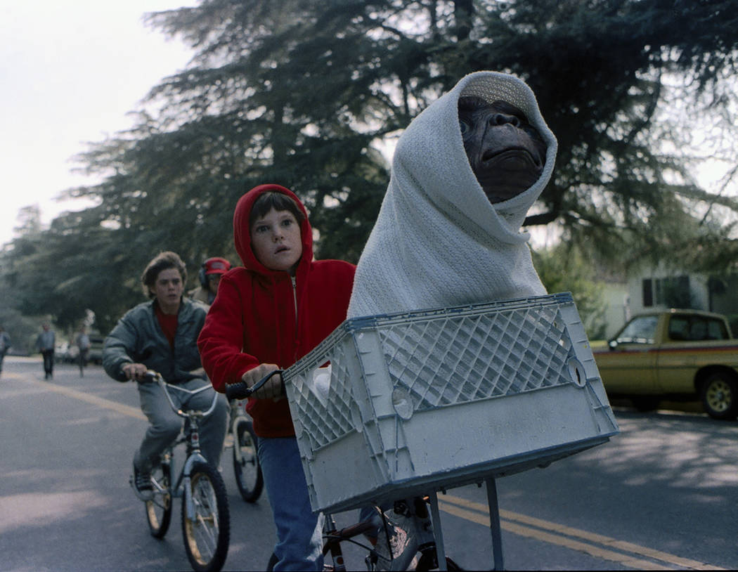 Henry Thomas as Elliott E.T. The Extra-Terrestrial 30th Anniversary Event