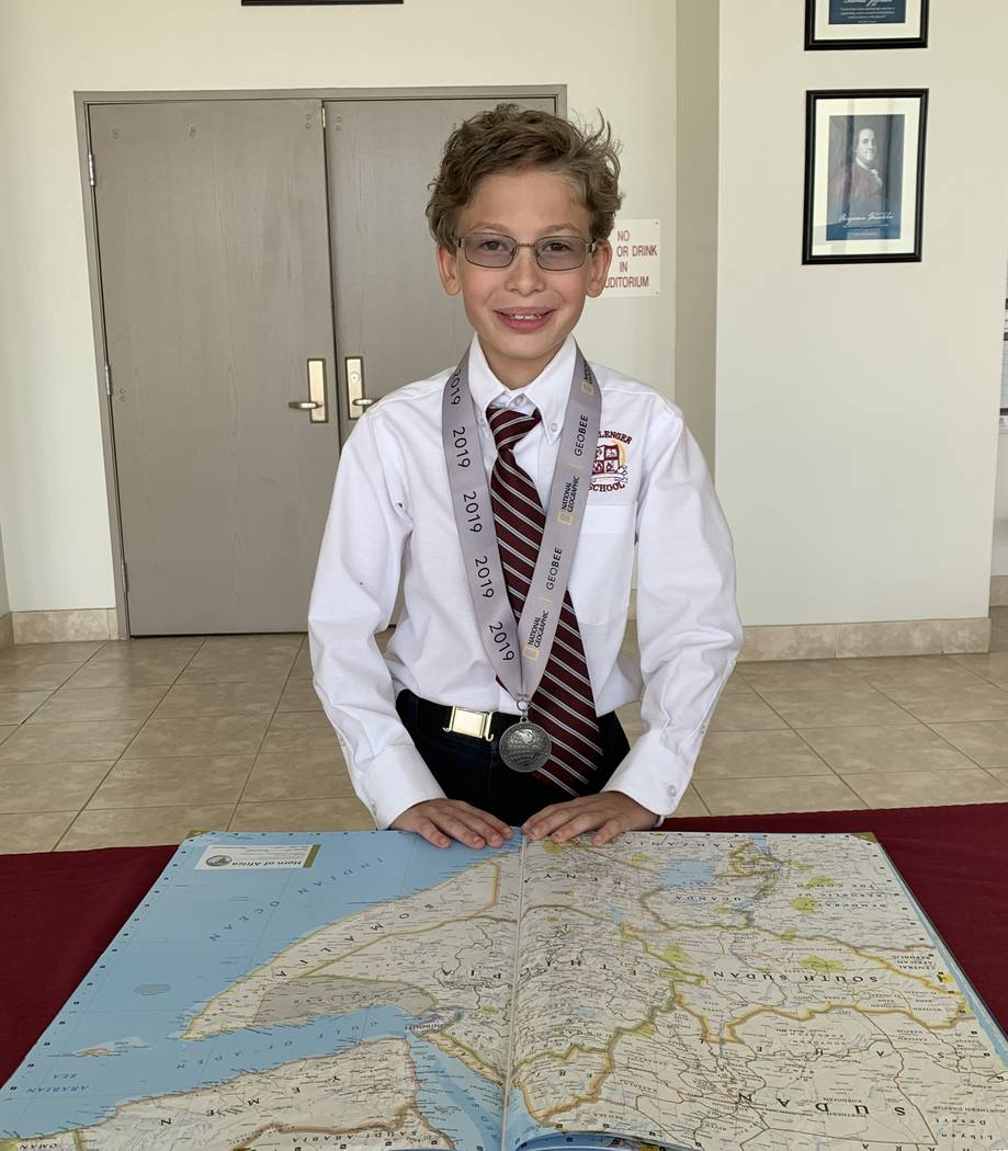 Jack Stark was one out of over 100 students in his school, grades four through 8, chosen to com ...
