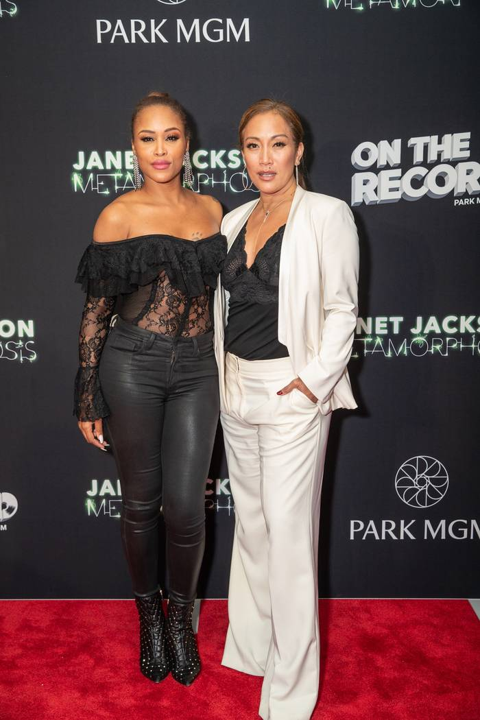 "Eve and Carrie Ann Inaba attend the ""Metamorphosis"" afterparty at On The Record Speakeasy and C ..."