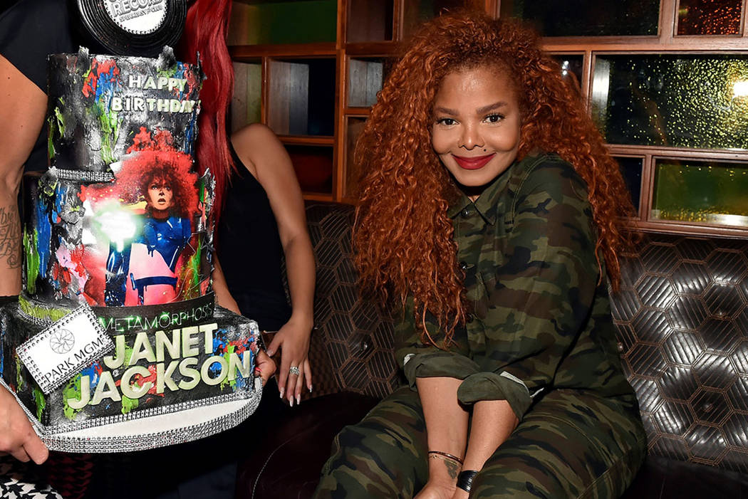 "Janet Jackson attends her residency debut ""Metamorphosis"" afterparty at On The Record Speakeasy ..."