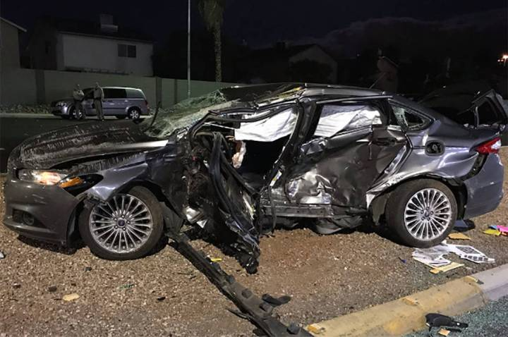 A fatal crash occurred at the intersection of West Craig Road and North Rainbow Boulevard in La ...