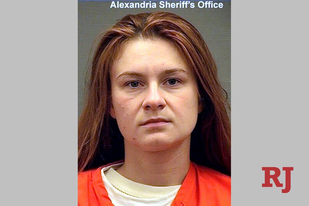 Maria Butina (Alexandria Detention Center via AP, File)