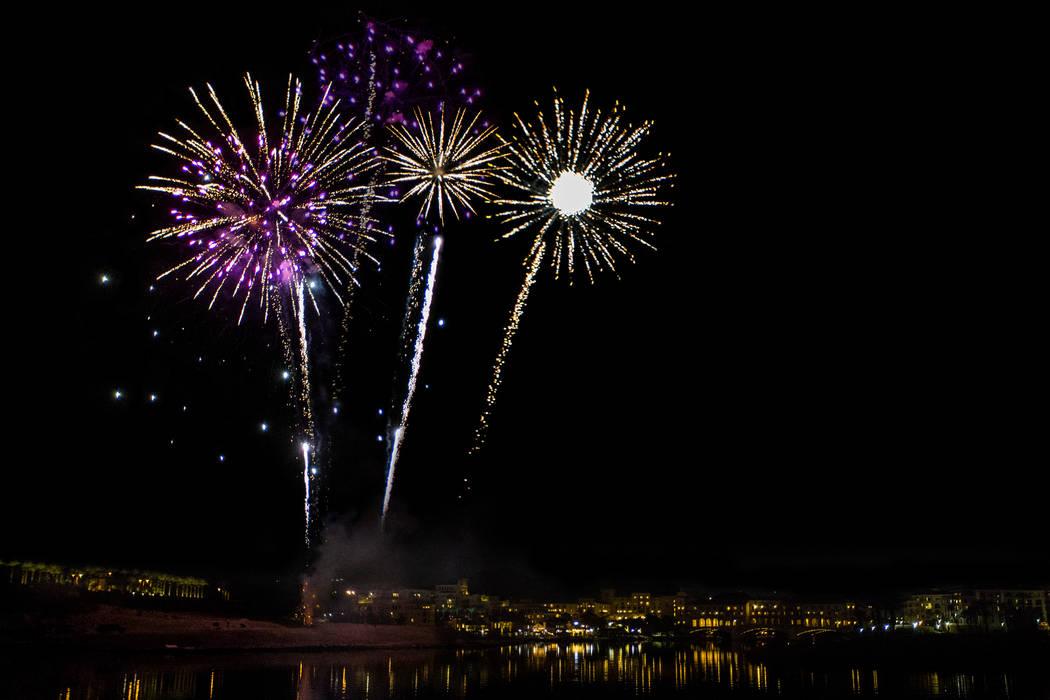 The Lake Las Vegas Summer Fireworks Series kicks off Sunday at 9 p.m. (Lake Las Vegas)