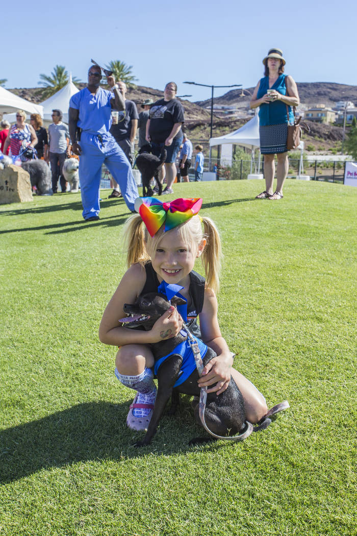 On Saturday, Lake Las Vegas will hold the Pulte Pet Parade and a pet fair, both benefiting the ...