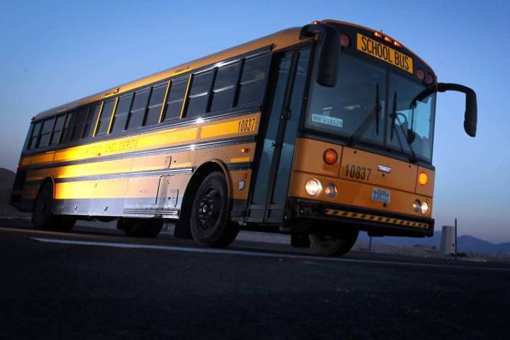 A Clark County School District bus driver who was fired for having alcohol in his system while ...