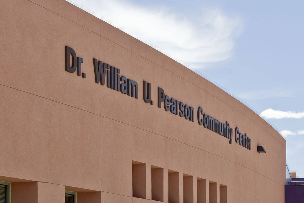 The Dr. William U. Pearson Community Center (Las Vegas Review-Journal/File)