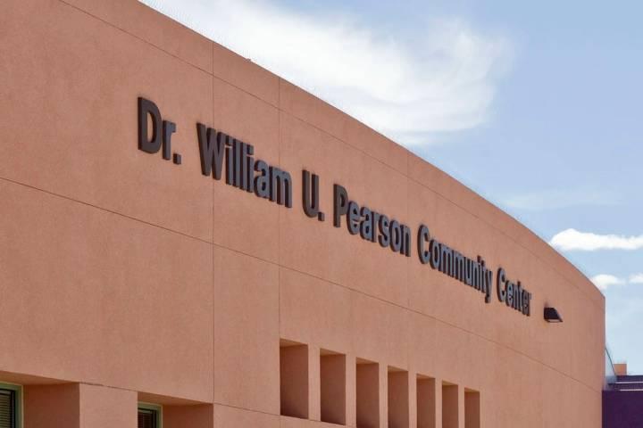 The Dr. William U. Pearson Community Center (Las Vegas Review-Journal/File)