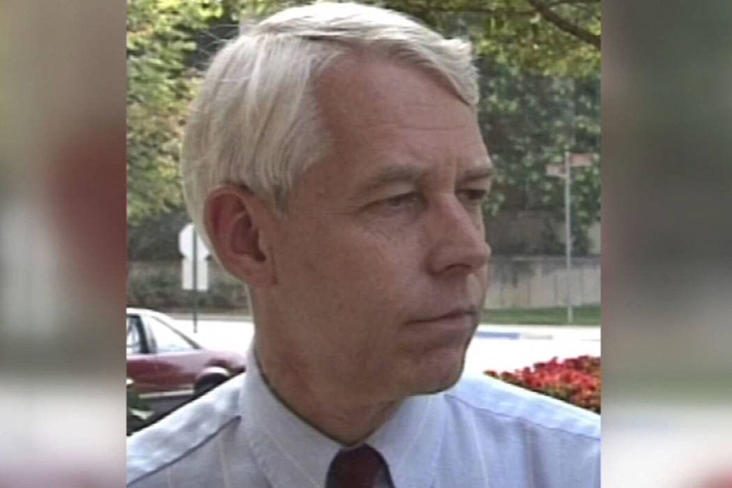 This 1992 image made from video provided by WBNS-TV, shows Dr. Richard Strauss. A report releas ...