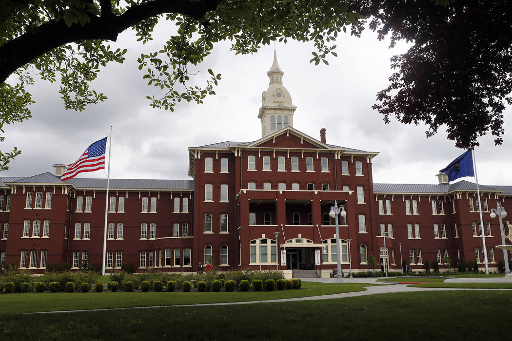 File - In this May 24, 2013, file photo, is the Oregon State Hospital in Salem, Ore. Oregon wil ...