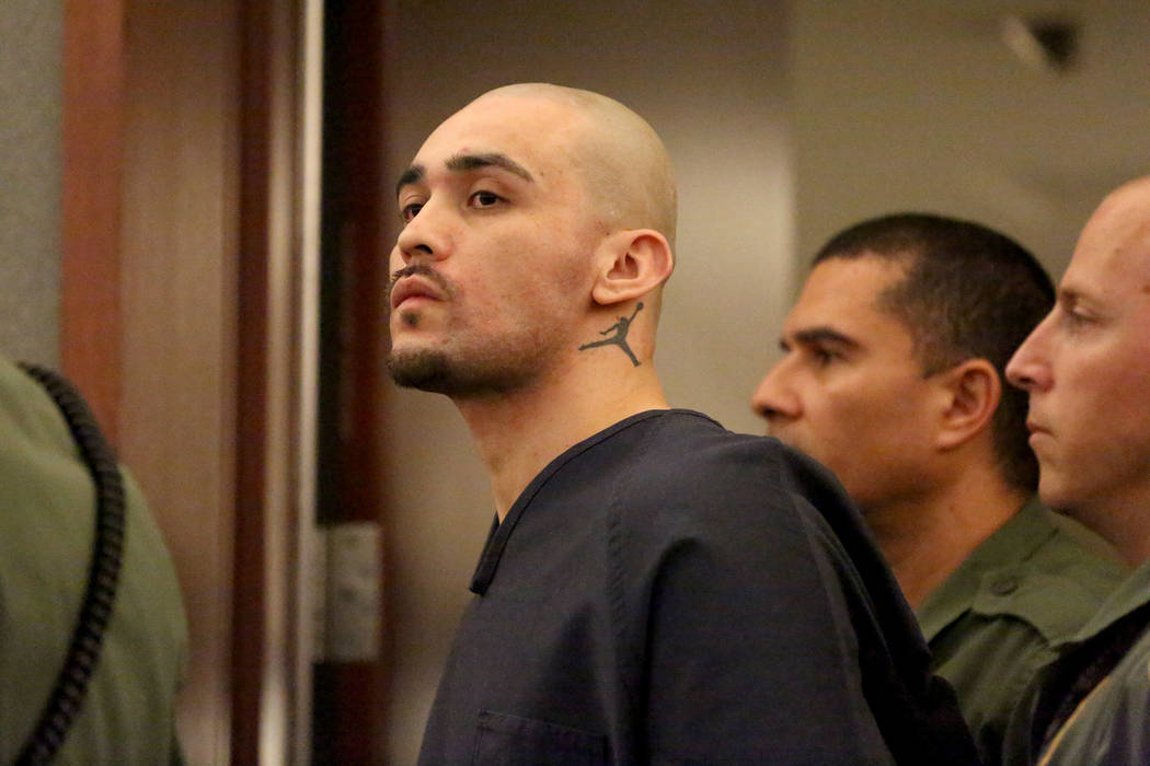 Alonso Perez, the man facing three charges of murder and the death penalty, appears in court on ...