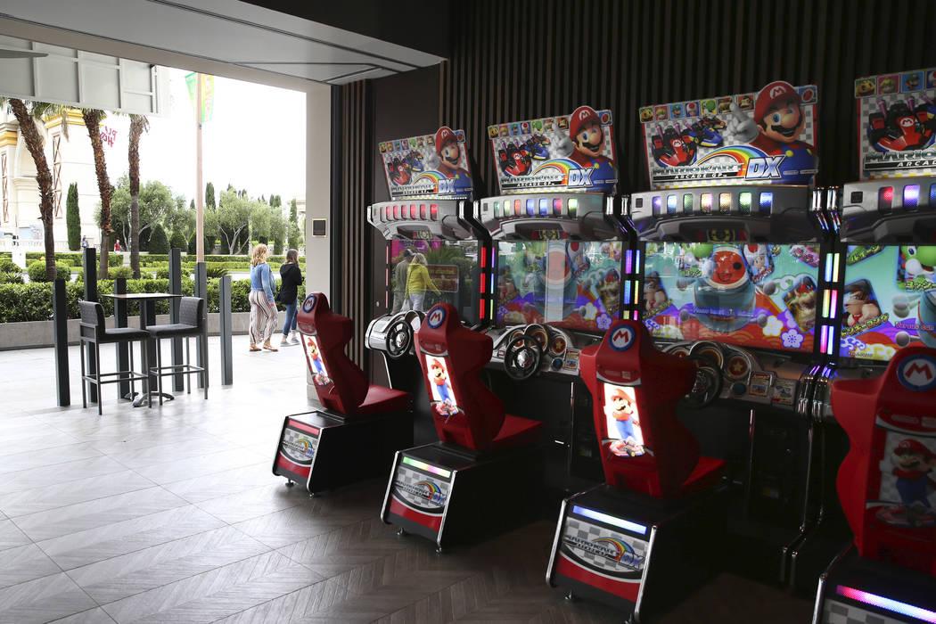 Rematch Bar at The Linq Hotel in Las Vegas, Wednesday, May 22, 2019. (Erik Verduzco / Las Vegas ...