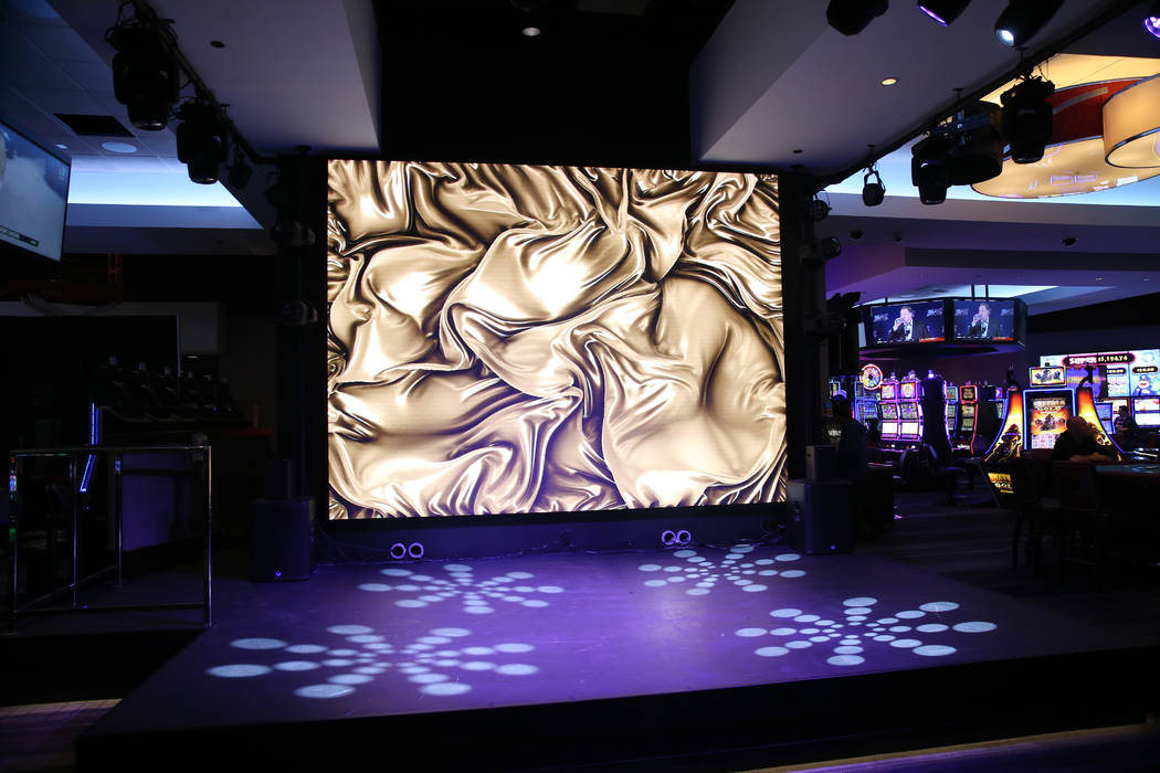 A new stage inside The Linq Hotel in Las Vegas, Wednesday, May 22, 2019. (Erik Verduzco / Las V ...