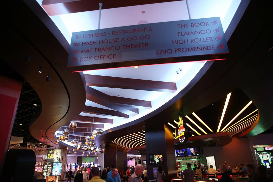 The Linq Hotel in Las Vegas, Wednesday, May 22, 2019. (Erik Verduzco / Las Vegas Review-Journal ...