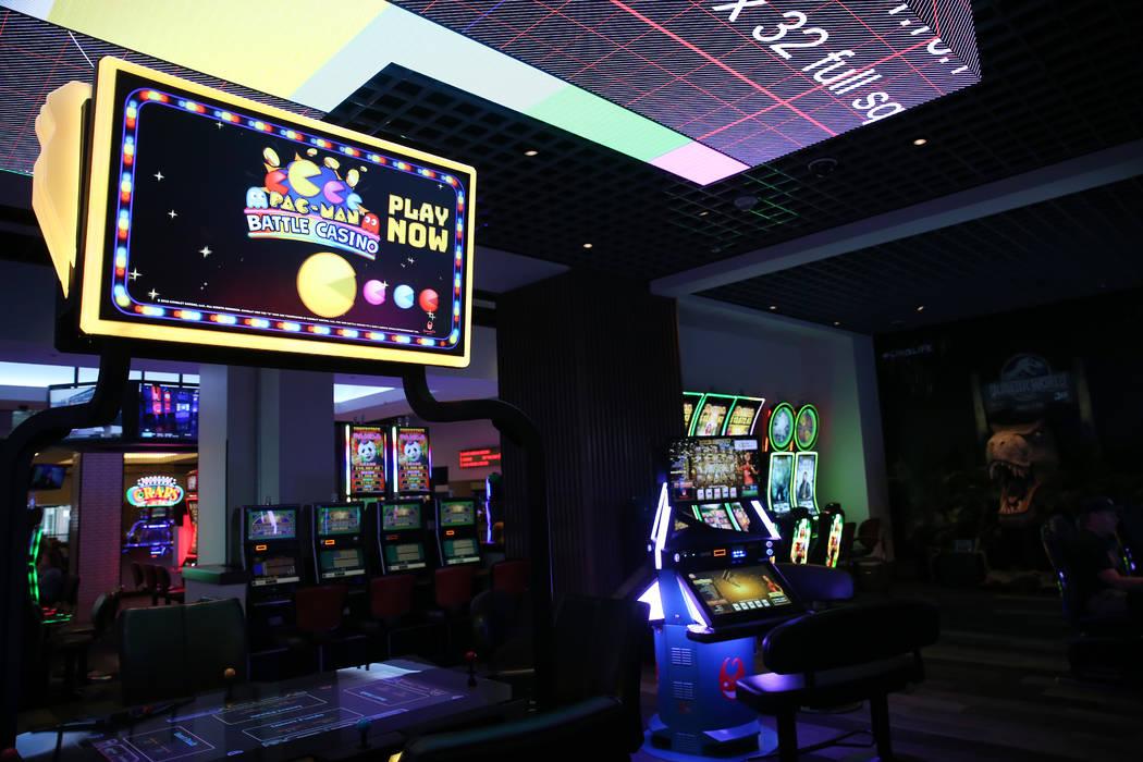 The gaming floor at The Linq Hotel in Las Vegas, Wednesday, May 22, 2019. (Erik Verduzco / Las ...