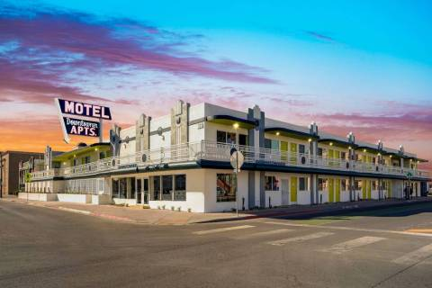 DTP Cos. announced that it renovated the Downtowner motel in Las Vegas, seen here. (Courtesy Ne ...