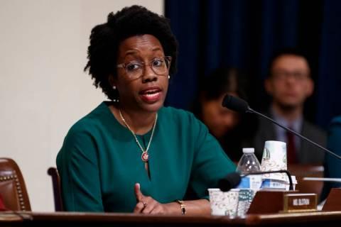 House Homeland Security Committee member Rep. Lauren Underwood, D-Ill., questions Acting Secret ...
